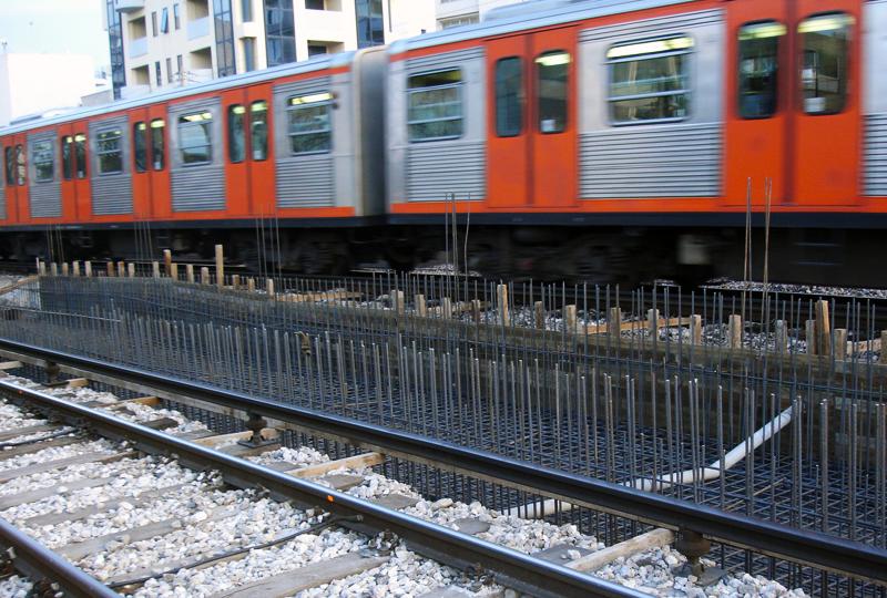 Σιδηροδρομικά έργα